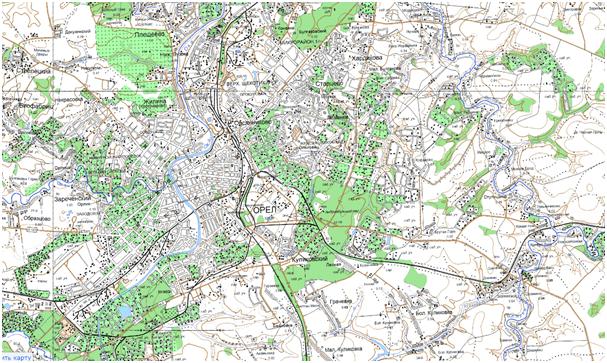 геодезические изыскания в Орловской области